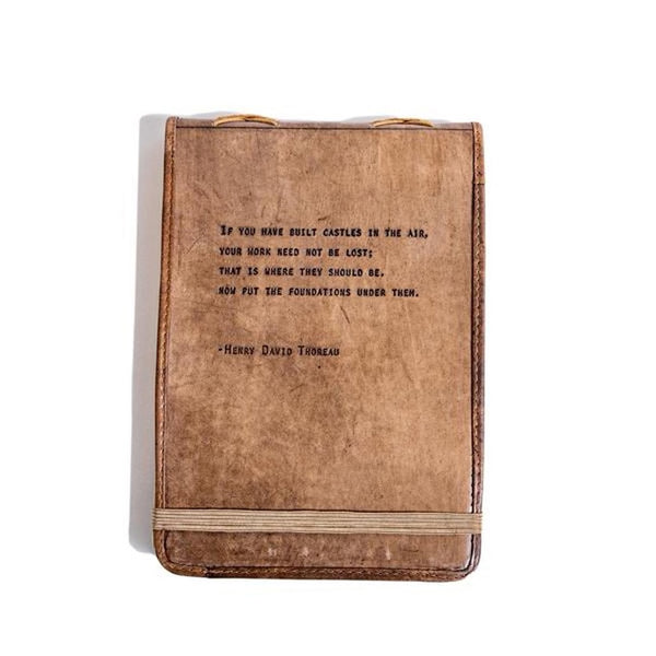 Large Leather Quote Journals