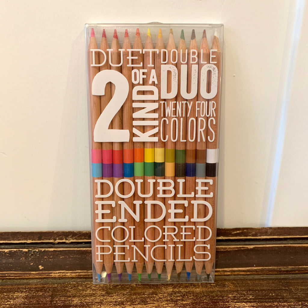 Dual Set Colored Pencils