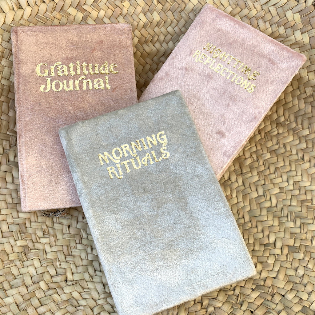 Velvet Mindfulness Journals