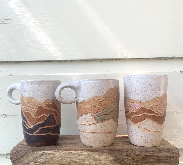 Tall Mountain Mug