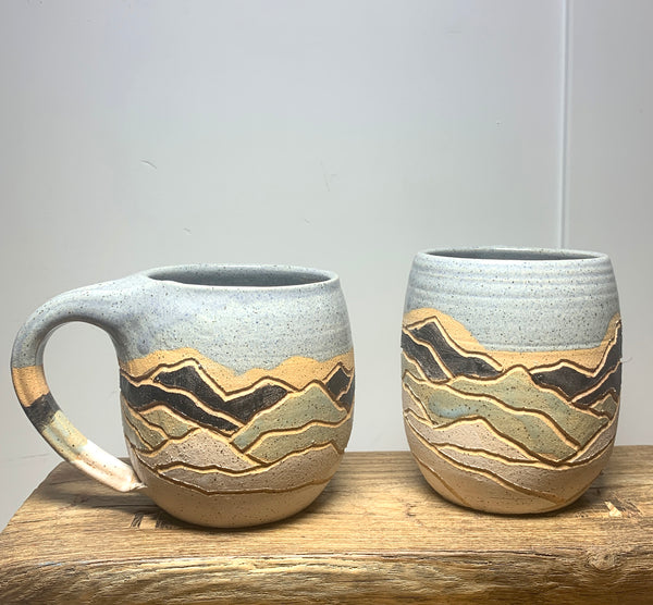 Ceramic Mountain Mug