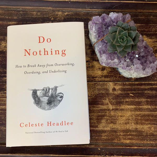Do Nothing Book