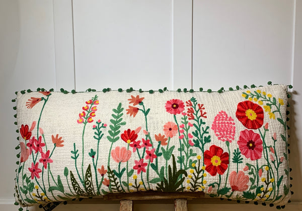 Wild Flower Pillow