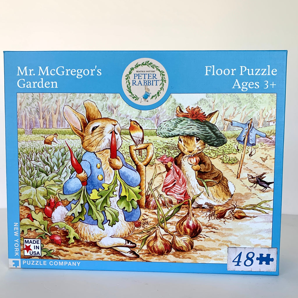 Peter Rabbit - Mr. McGregor's Garden Floor Puzzle