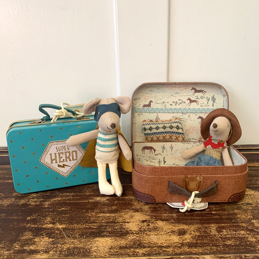 Maileg Suitcase Mice