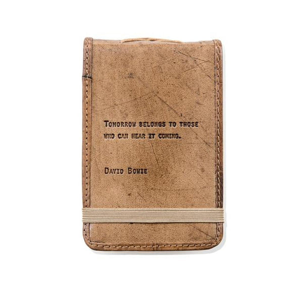 Leather Quote Journals