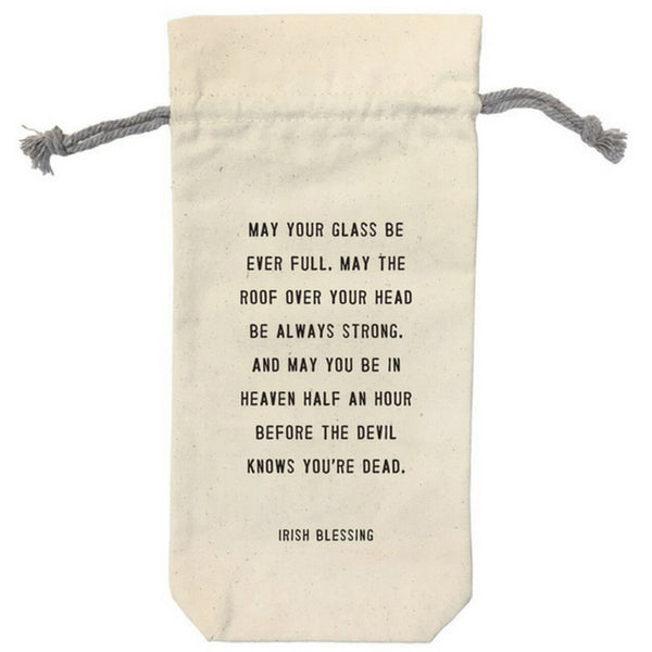 Wine Bags Canvas Quotes