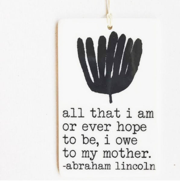 Quote Ornaments