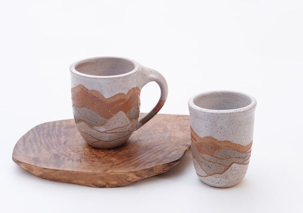 Ceramic Mountain Cup