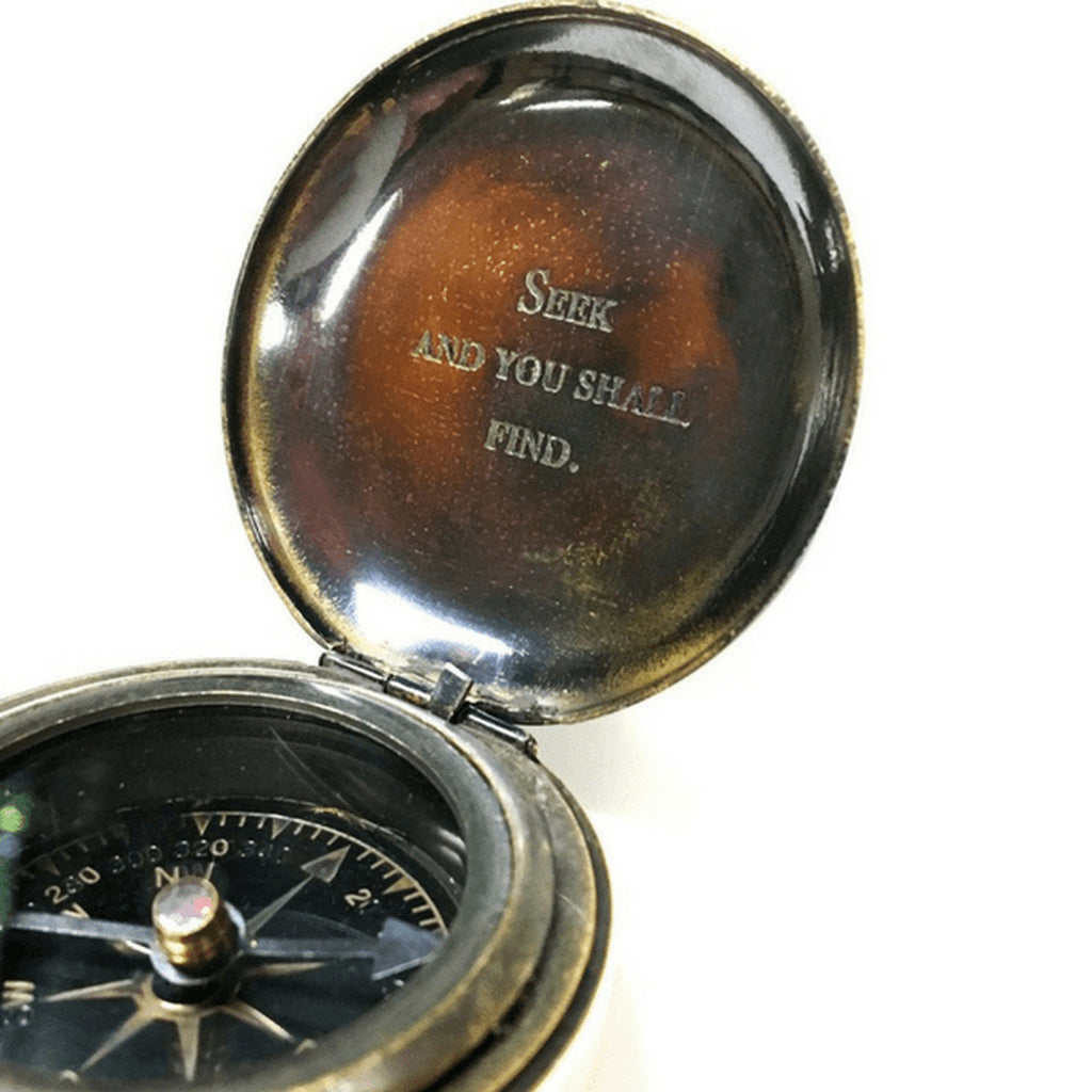 Engraved Pocket Compasses
