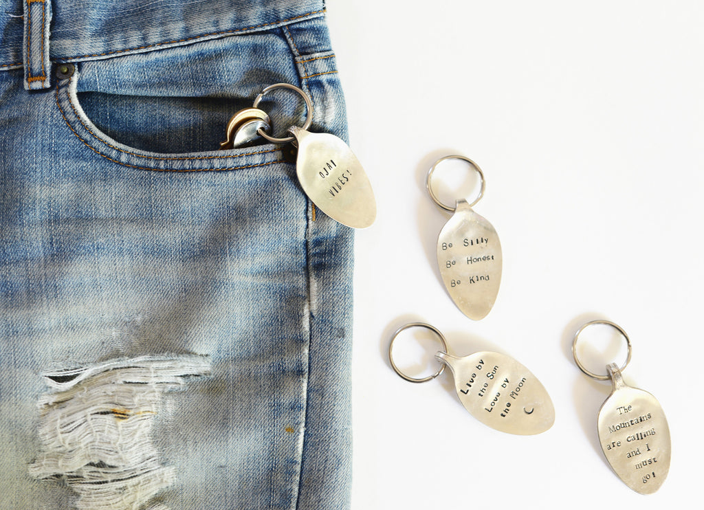 Spoon Keychain