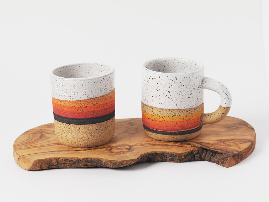 Sunset Stripe Mug
