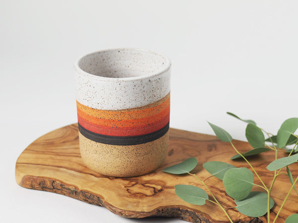 Sunset Stripe Tumbler