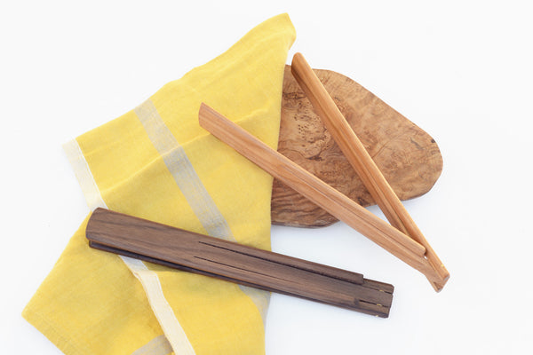 Wood Folding Tongs