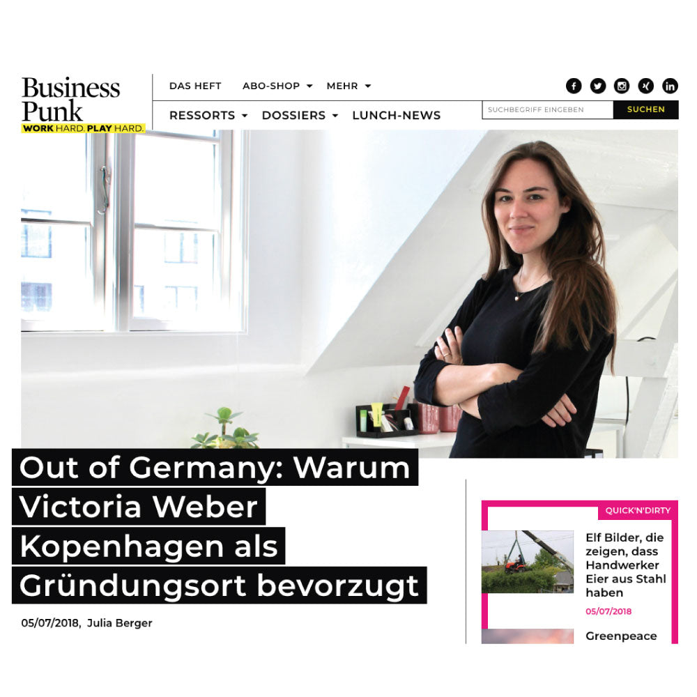 Business Punk Germany, July 2018