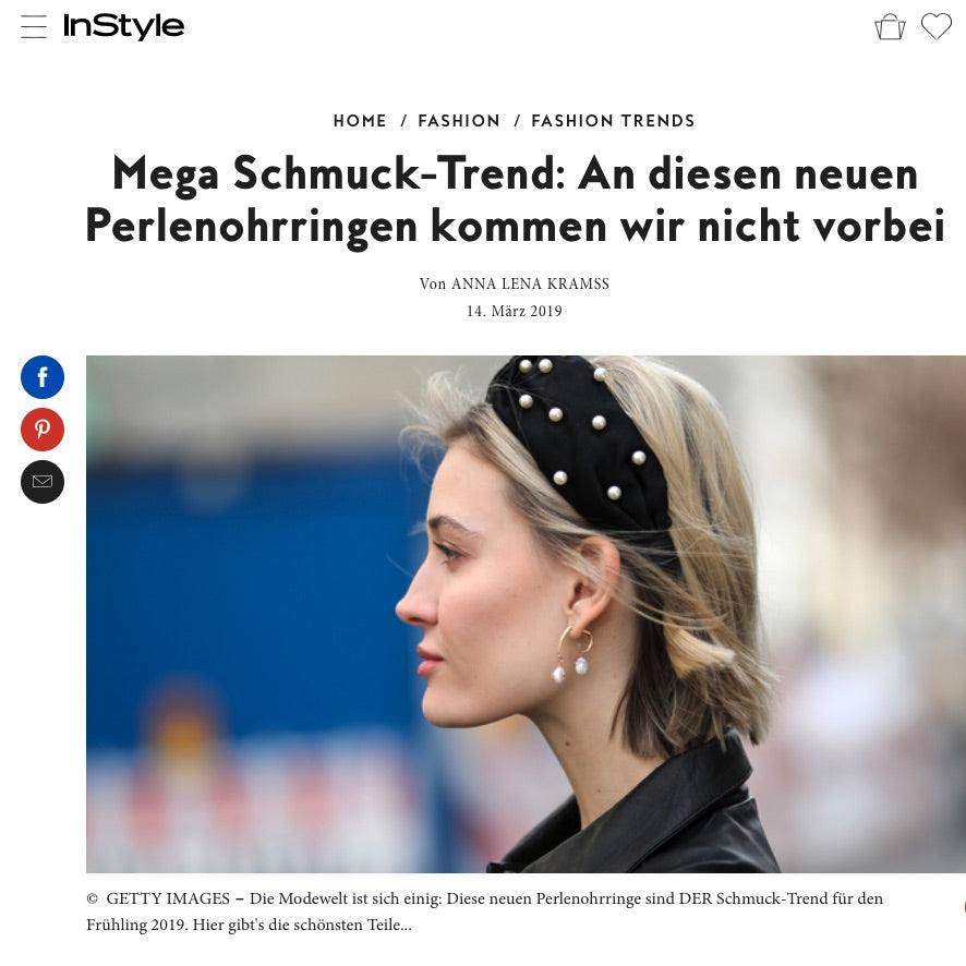 InStyle Online Germany, March 2019