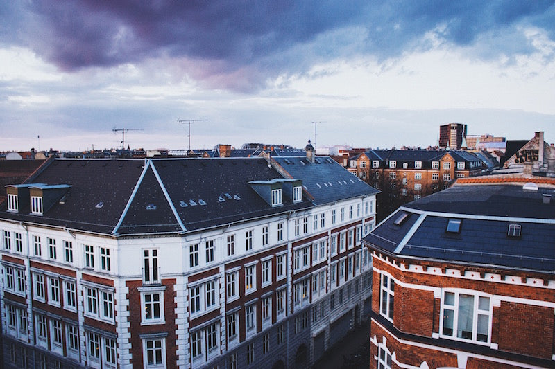 Copenhagen Rooftops by Nikoline Tengler. Interview by Mermaid Stories