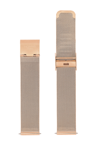 Roségolden Mesh Band