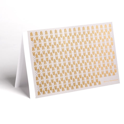 Christmas Cards Gold (Pack of 4)