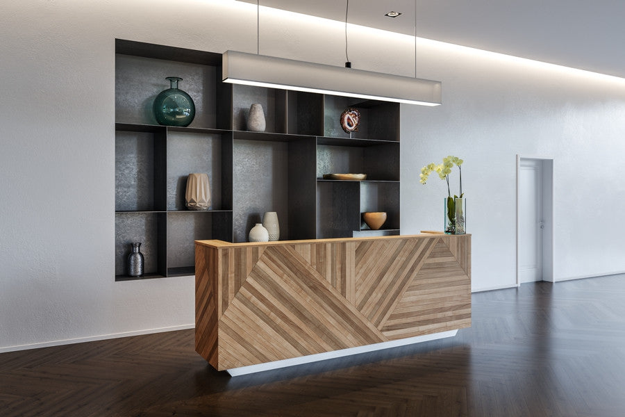 cool custom reception desk furniture | Commercial Furniture Vancouver | Contract Furniture ...