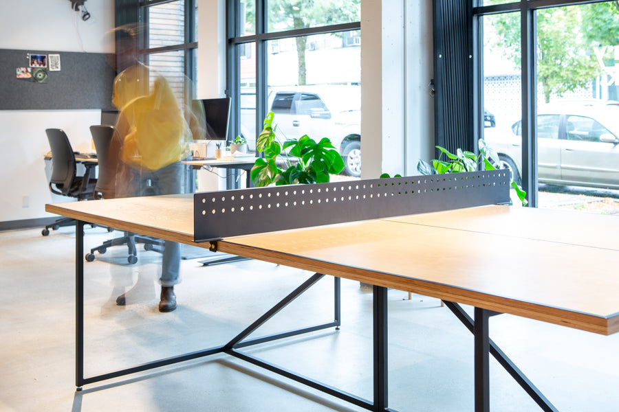modern office ping pong table