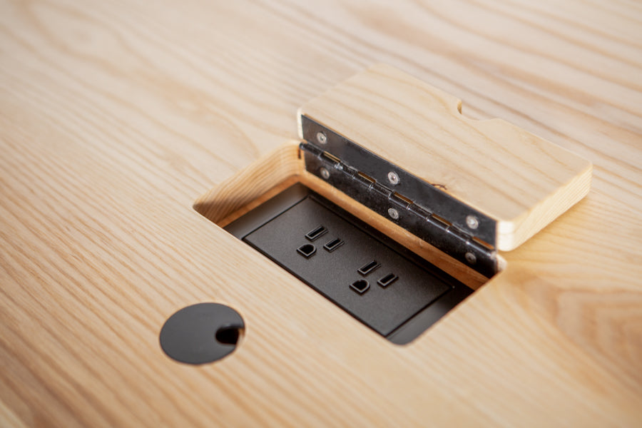 custom furniture with data and power