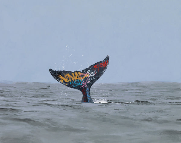 Josh Keyes paintings