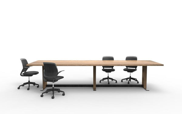 solid wood boardroom tables