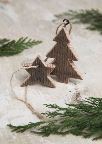 How To Make Rustic Christmas Ornaments With Union Wood Co Union