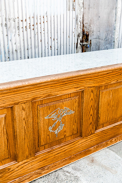 custom traditional storeroom counter