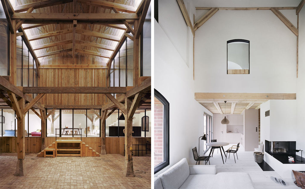 modern french barns