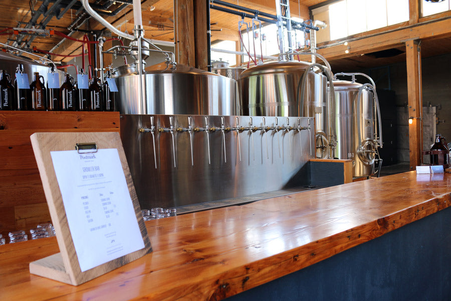 Postmark brewing interior