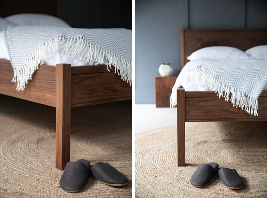 quality wooden bed