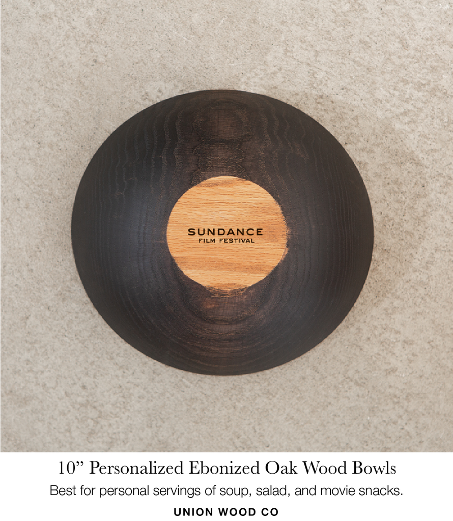 10 inch personalized wooden bowls