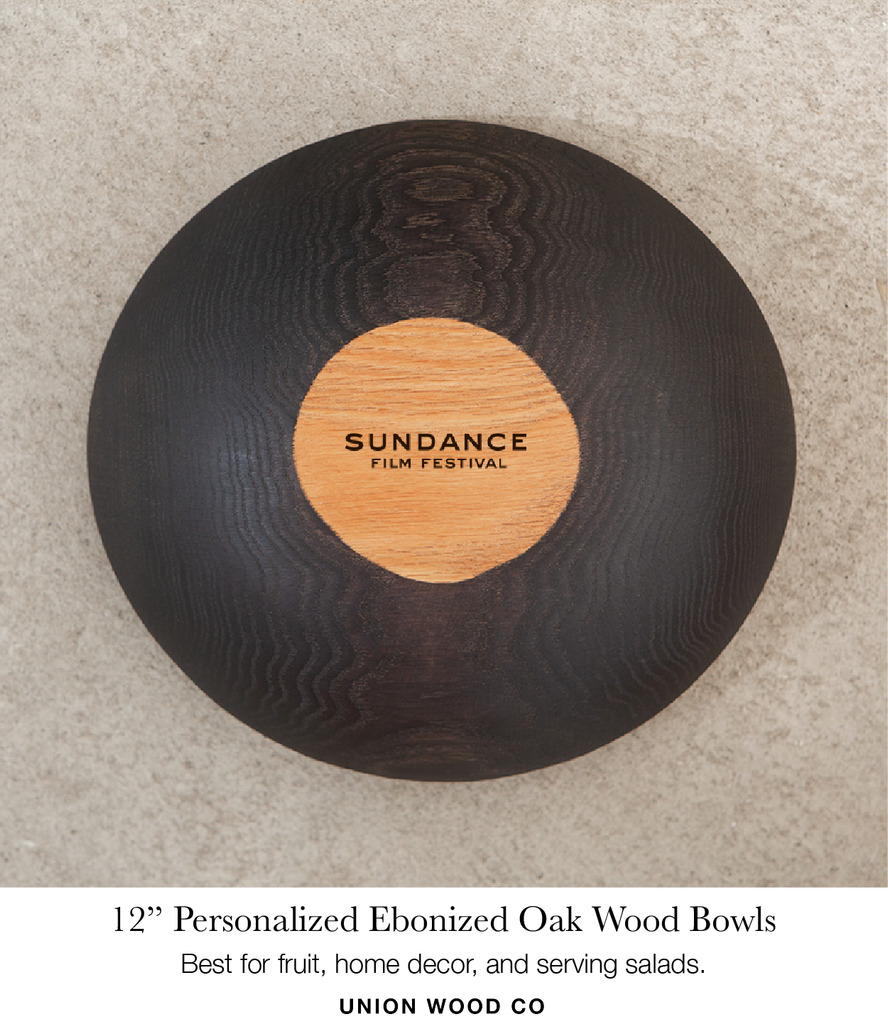 12 inch personalized wooden bowls