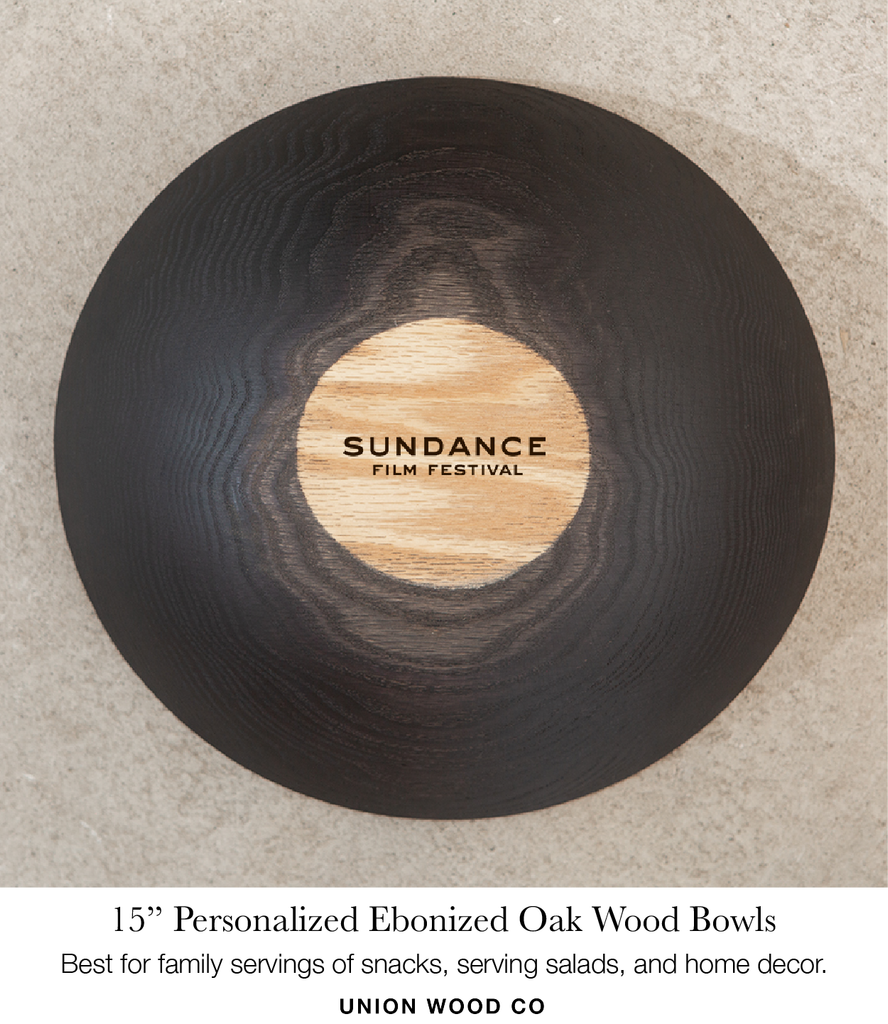 15 inch personalized wooden bowls