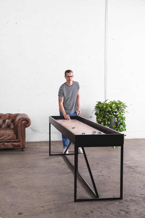 12 foot shuffleboard table