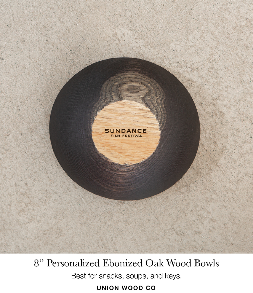 8 inch personalized wooden bowls
