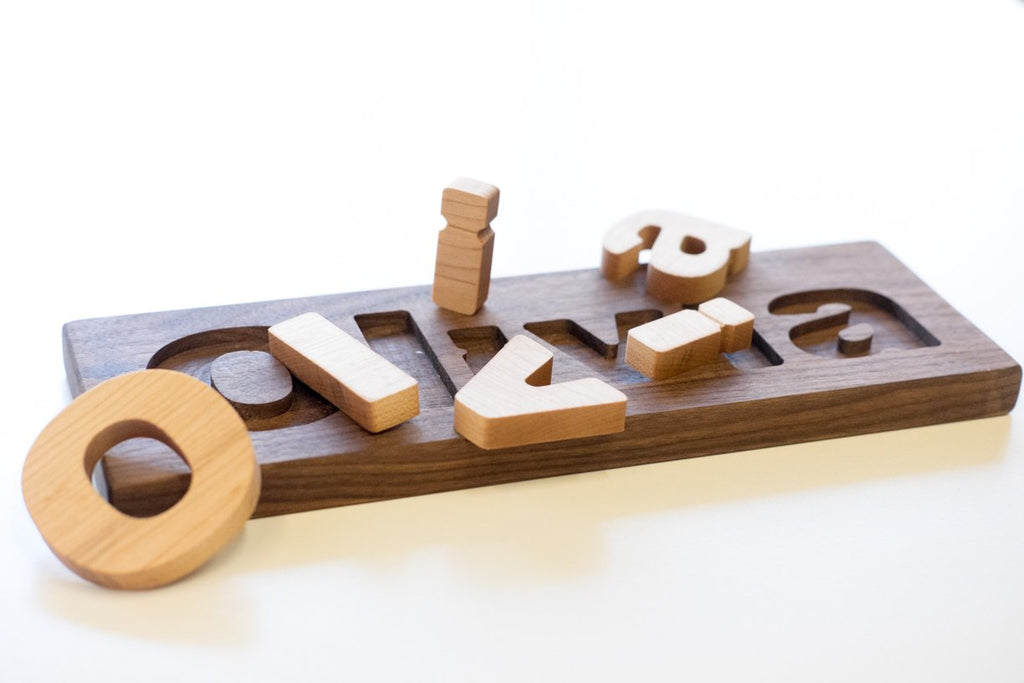 wooden name puzzle canada