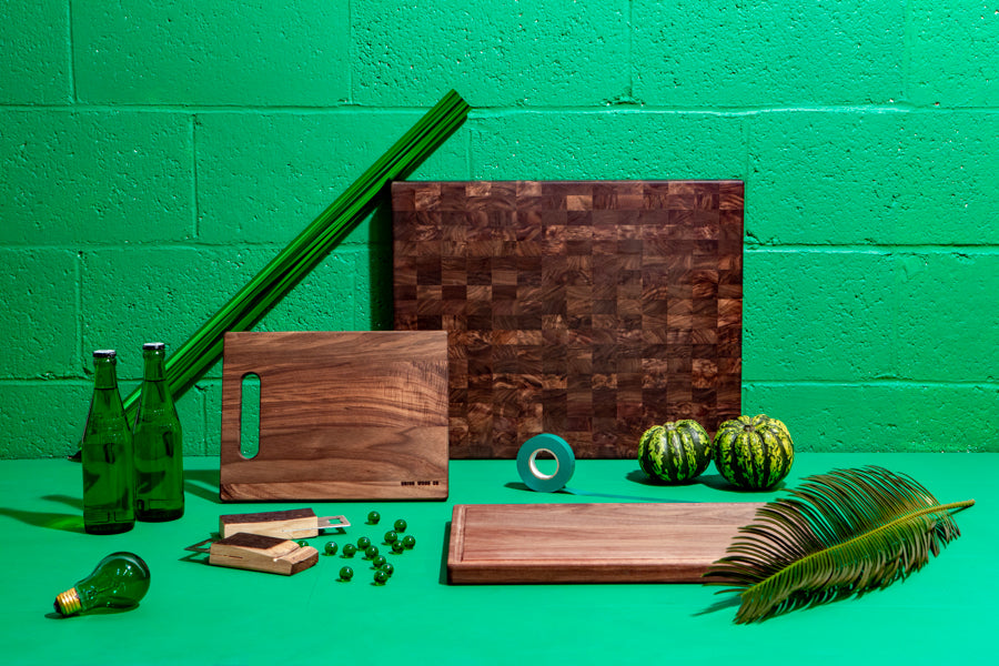 walnut cutting boards - 3 sizes