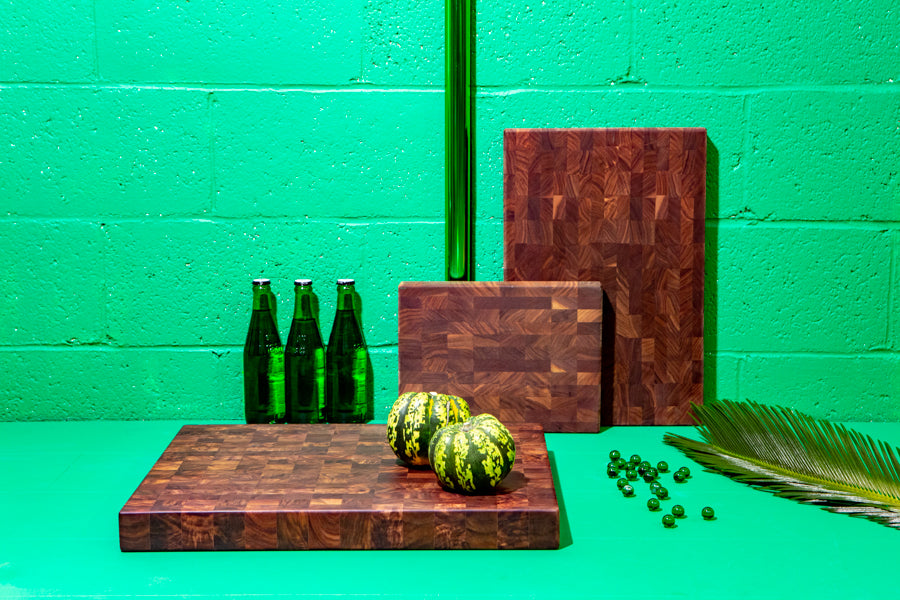 traditional end grain cutting boards