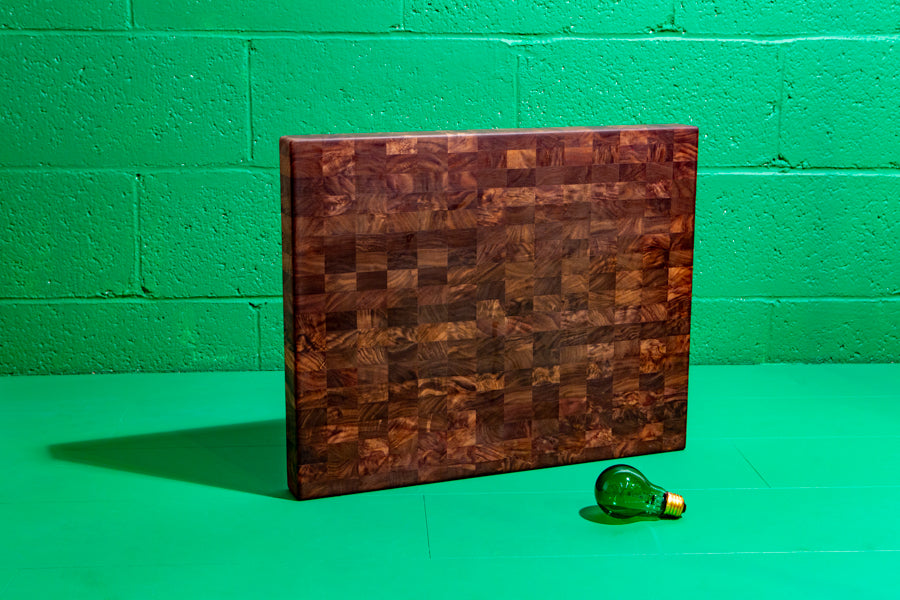 x large end grain cutting board