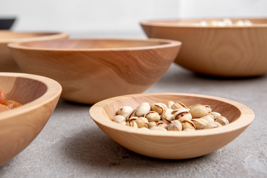 wooden bowls Vancouver