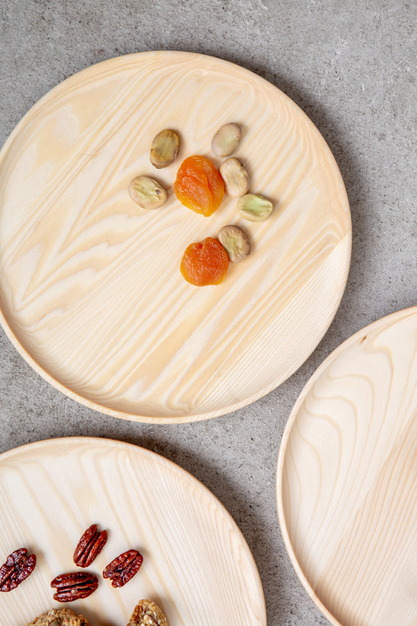 wood plates for gifts