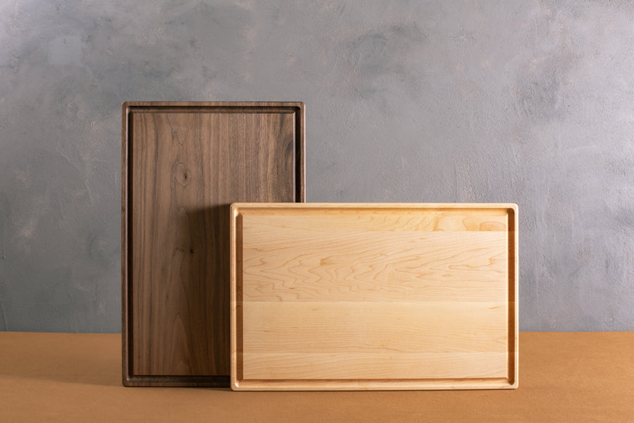 personalized cutting boards with juice grooves