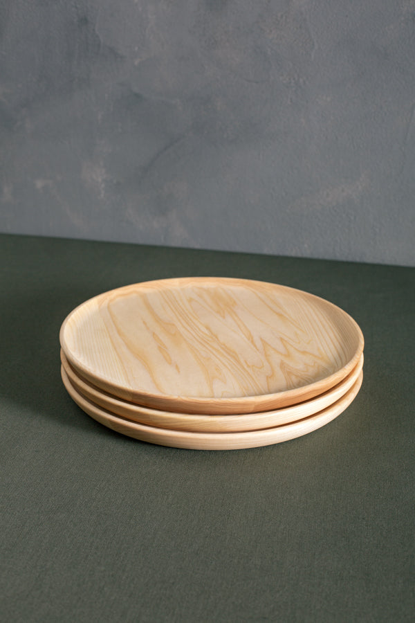 personalized modern wood plates