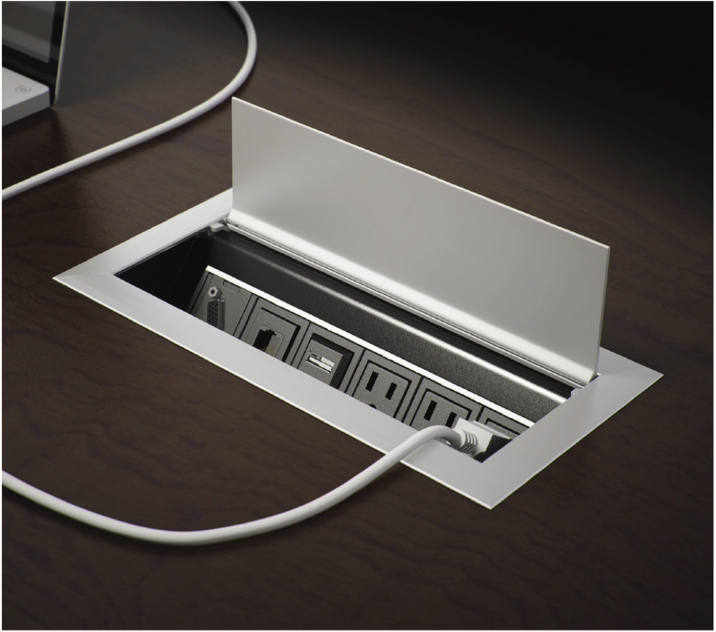 Ellora desktop power access