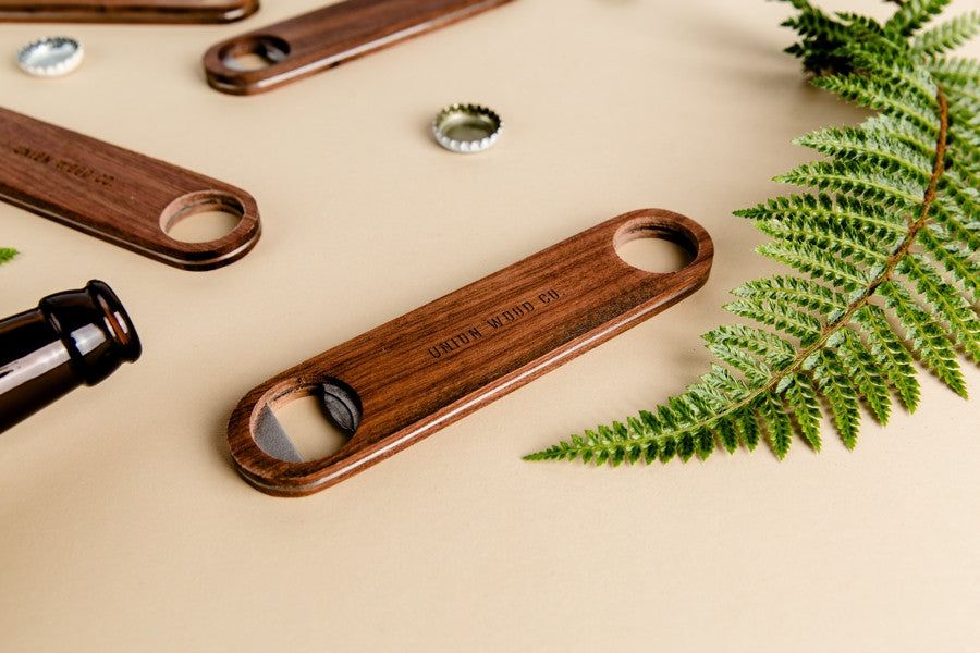 cool wood bottle opener