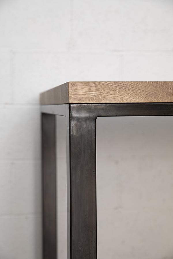 industrial style meeting table Vancouver