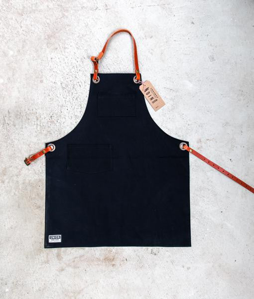 canvas apron with pockets
